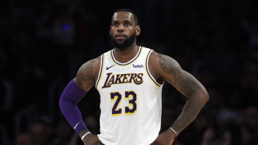 Misplaced: LeBron James has apologised for a social media post referencing 'Jewish money'.