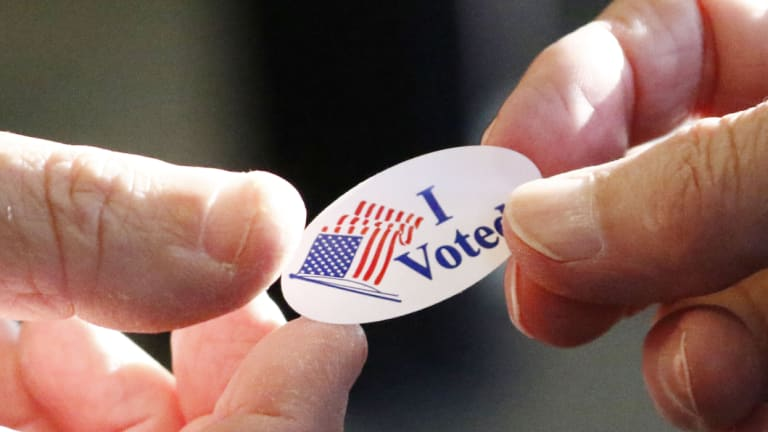 US voters head to the polls today for the midterm elections, seen as a referendum on the direction of the nation with Donald Trump as president.