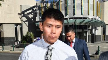 Taylor Wyatt Elwood at the Brisbane Arrests Court in July.