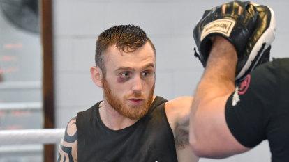 Defying the flag: Irish boxer Hogan is jack of the Union