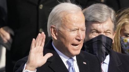 'We must end this uncivil war': President Joe Biden's inauguration speech
