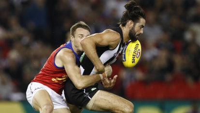 'Largely irrelevant': Buckley sick of focus on hit-outs