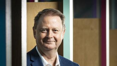 REA Group CEO Owen Wilson.