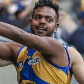 Willie Rioli has returned from the Tiwi Islands in great shape for 2019.