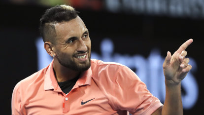 Kyrgios' roving eye is the sign of a loser