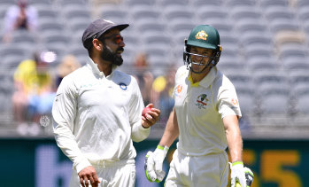 The contest between Virat Kohli's India and Tim Paine's Australia carries enormous value for CA.