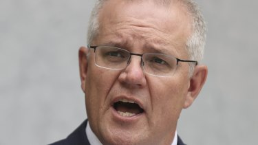 Prime Minister Scott Morrison said Australian Open tennis players were not being allowed into the country ahead of stranded Australians.