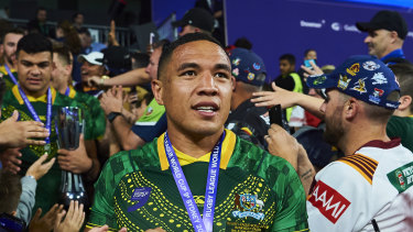 Tyson Frizell can't wait to represent Australia in his hometown of Wollongong.