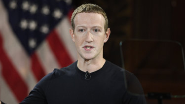 Facebook CEO Mark Zuckerberg used his speech at Georgetown University to argue for free speech, even if it comes at a cost.