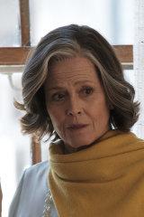 "Sigourney Weaver in <i>My Salinger Year</i>."""