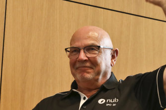 Nuix CEO Rod Vawdrey led the company to a high-profile IPO in December.