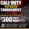 WWII video game tournament at RSL club cancelled