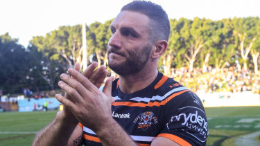 Not the retiring type: Michael Maguire says Robbie Farah is ready to play on.