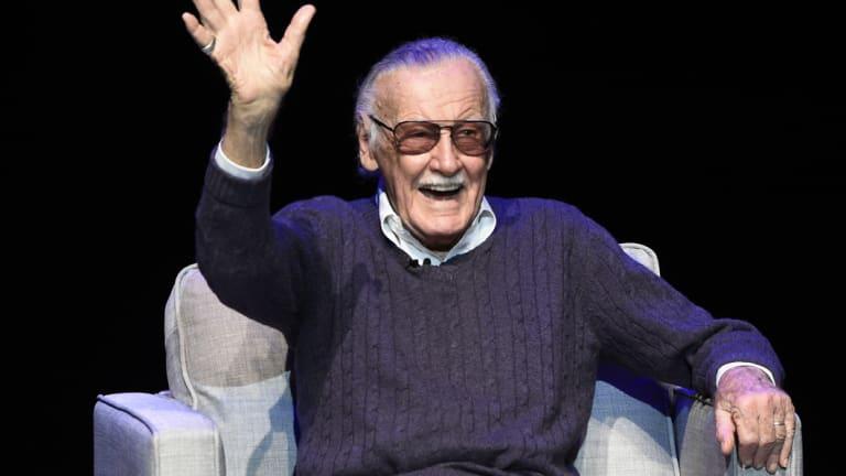 Marvel legend Stan Lee, who died this week.