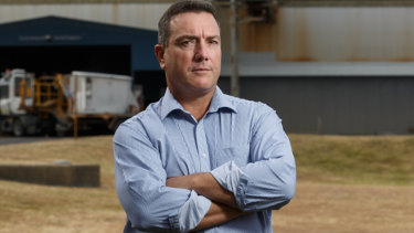 "Tomago Aluminium CEO Matt Howell warns of a ""power crisis"" in the state."