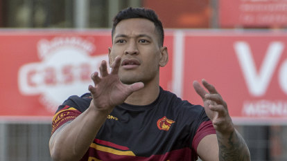 Folau admits he considered walking away from professional sport