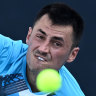 'Worst commentator I've seen in my life': Tomic slams Fitzgerald after straight-sets loss