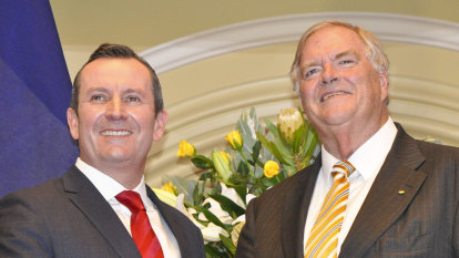 Budget boost for Beazley as governor decides his job now includes 'advocacy'