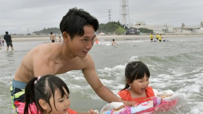 Fukushima beach reopens for first time since 2011 nuclear disaster