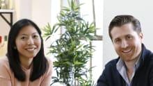 Audrey Khaing-Jones and husband Dean Jones founded dress rental company GlamCorner seven years ago.