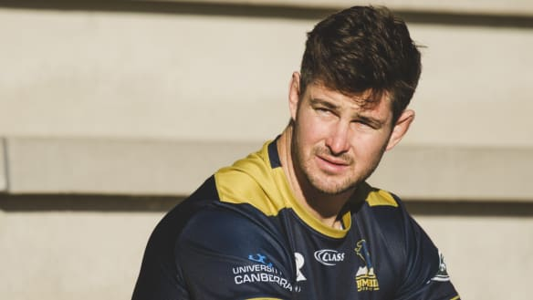 Brumbies skipper Sam Carter determined to wear Wallaby gold again