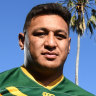 Kangaroos prop Papalii to have scan on ribs before Kiwis clash