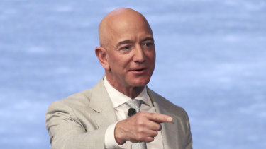 Amazon chief Jeff Bezos has handed over the reins at Amazon.