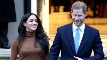 Forging their own path: Meghan Markle and Prince Harry.