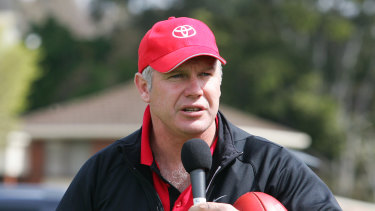 Danny Frawley: recommended his brother-in-law invest in 'the millionaires' factory'.