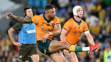 Quade Cooper was faultless off the tee, but that was only part of his important contribution.