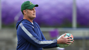 New era: Springboks head coach Rassie Erasmus has headed off firestorms that have burned previous coaches.
