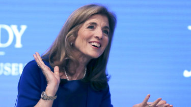 President Joe Biden is giving serious consideration to nominating Caroline Kennedy, the daughter of President John F. Kennedy who served as ambassador to Australia.