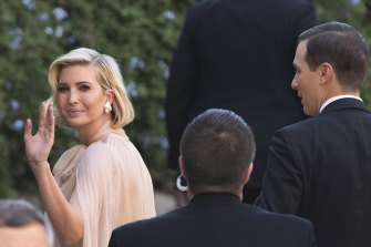 Ivanka Trump and Jared Kushner also attended the wedding.