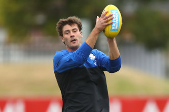 Coach Luke Beveridge has been forthright in his comments about the pre-season form of midfielder Josh Dunkley.