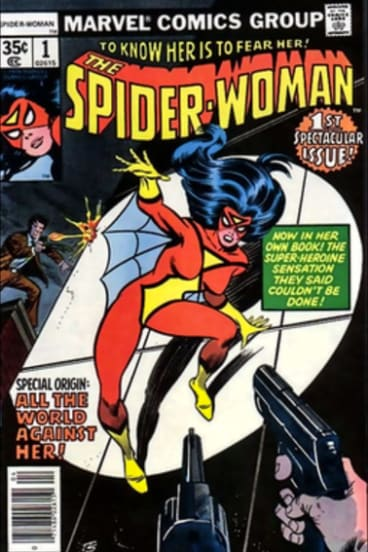 Cover of Spider Woman April 1978