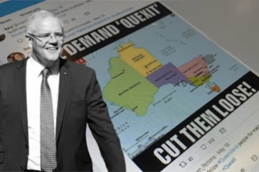"Calls for ""Quexit"" have been echoing around social media since Prime Minister Scott Morrison carried Queensland for the Coalition."