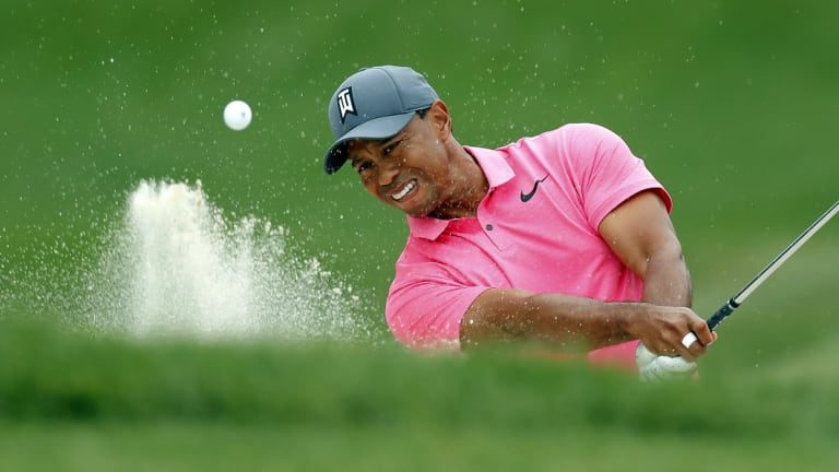 Fond memories: Tiger Woods is hoping to extend a remarkable record at Firestone this week.