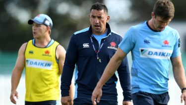 Coach Daryl Gibson is highly regarded but has not delivered for NSW.