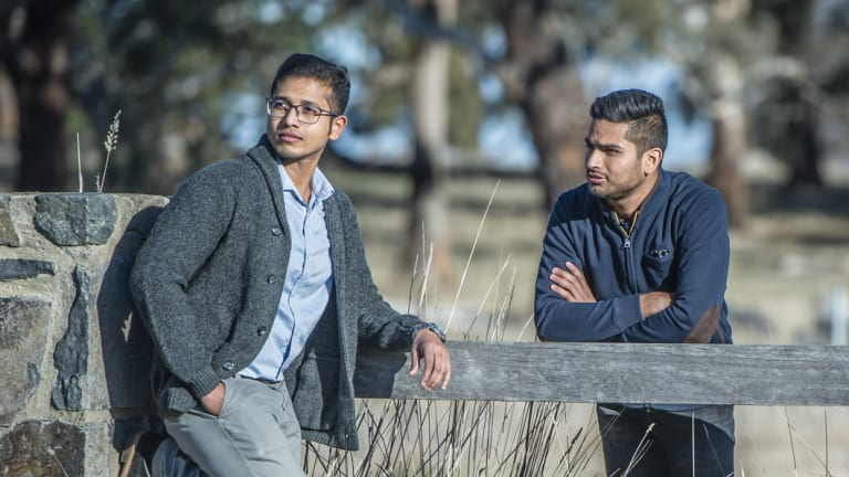 Chandan Paul (left)  of Bangladesh and Yatin Malik of India and other prospective migrants have had their hopes of permanent residency in Australia dashed by ACT changes to visa rules.