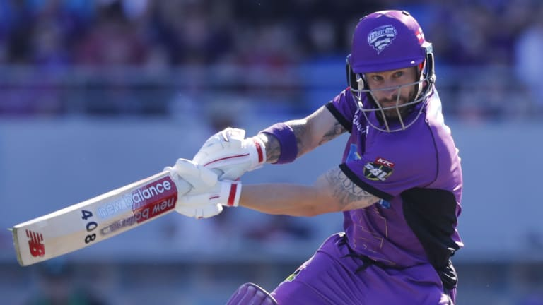 Matthew Wade led the Hurricanes to victory.