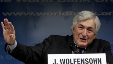 Having grown up in Sydney, James Wolfensohn became a force on Wall Street and on the world stage.