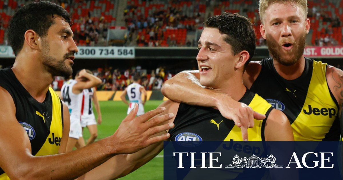 Questions for Lynch as Tigers enter fourth straight preliminary final – The Age