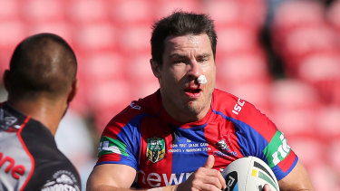 James McManus during his playing days with the Knights in 2015.