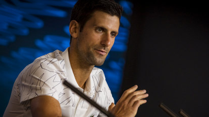 Djokovic 'concerned' as he watched AO qualifiers splutter through smoke
