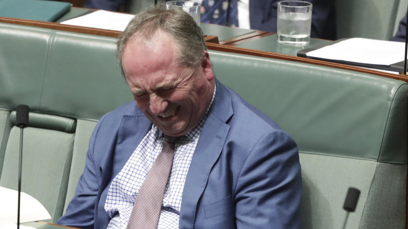 Barnaby and the idiot foghorns: not everyone got the memo about 'quiet Australians' - Sydney Morning Herald image