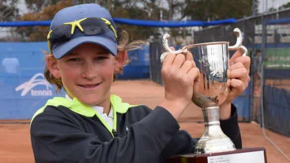 Charlie Camus has established himself as one of Australia's top juniors.