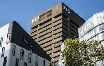 Some of the letters were sent to the University of Technology, Sydney.