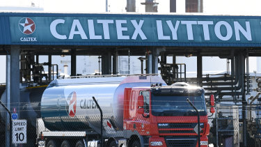 Caltex has brought forward a temporary shutdown of its Lytton refinery for maintenance work as the coronavirus puts pressure on profit margins.