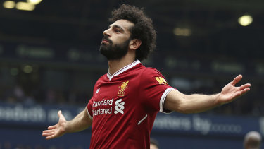 Superstar: Mo Salah has been arguably the world's best player this season.