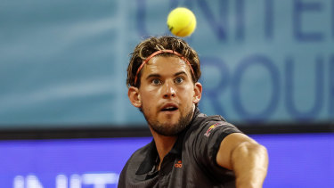 Rising star Dominic Thiem proved too strong for Filip Krajinovic in the final.